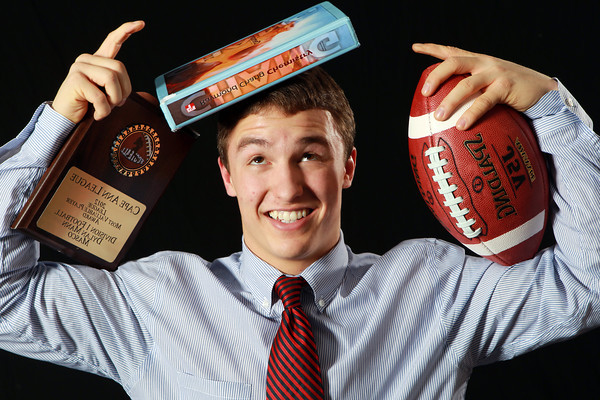 Salem News Student-Athlete Nominee Dylan Mann, Masconomet Regional High School. Mann, a two-sport standout for the Chieftans (Football and Lacrosse), who's favorite subject is Science, also is a member of the SERT program at Masconomet. He will take the second half of a certification test later this spring, while also playing midfield in lacrosse. Mann was named to the Super 26 Team for the State of Massachusetts and CAL MVP in his senior football season. David Le/Salem News