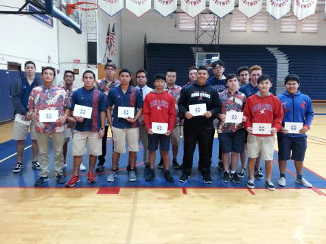 Athletes on honor roll